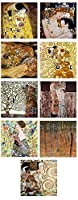"Alonlineアート–Mother KissツリーLifeファンGustav Klimtキャンバスの印刷( 100%コットン、フレームなしunmounted ) 28""x28"" - 71x71cm VM-KLMS09-STK0F00-9P1A-28-28"