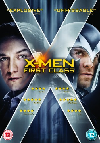 X-Men: First Class [DVD] by James McAvoy