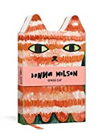 Ginge Cat Critter Journal: Hardcover Die-Cut Small Format 144-Page Lined Journal with Ribbon (Donna Wilson's Critters)