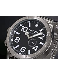 [ニクソン] NIXON 腕時計 メンズ 51-30 ブラック×シルバー メンズウォッチ 男性用 A057-000 A057000 [並行輸入品]