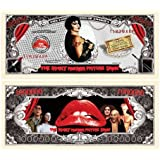 Rocky Horror Picture Show Million Dollar Bill in Collector Grade Currency Holder [並行輸入品]