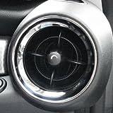 BMW MINI(ミニ) R55/R56/R57 【CLOS】クロス サイドエアダクトクロームリングセット