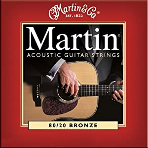 【国内正規品】 Martin マーチン アコースティックギター弦 M-140 ライト