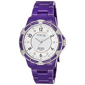 [シチズン キューアンドキュー]CITIZEN Q&Q 腕時計 ATTRACTIVE プラスチックベルト 逆輸入