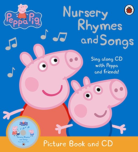 Ladybird『Peppa Pig: Nursery Rhymes and Songs: Picture Book and CD』
