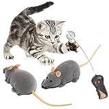 Time4Deals 猫じゃらし ペット用おもちゃ 運動不足解消 犬猫玩具 ネズミ型 グレー