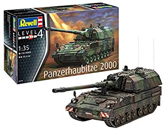 ドイツレベル 1/35 ドイツ陸軍 PzH2000自走榴弾砲 プラモデル 03279