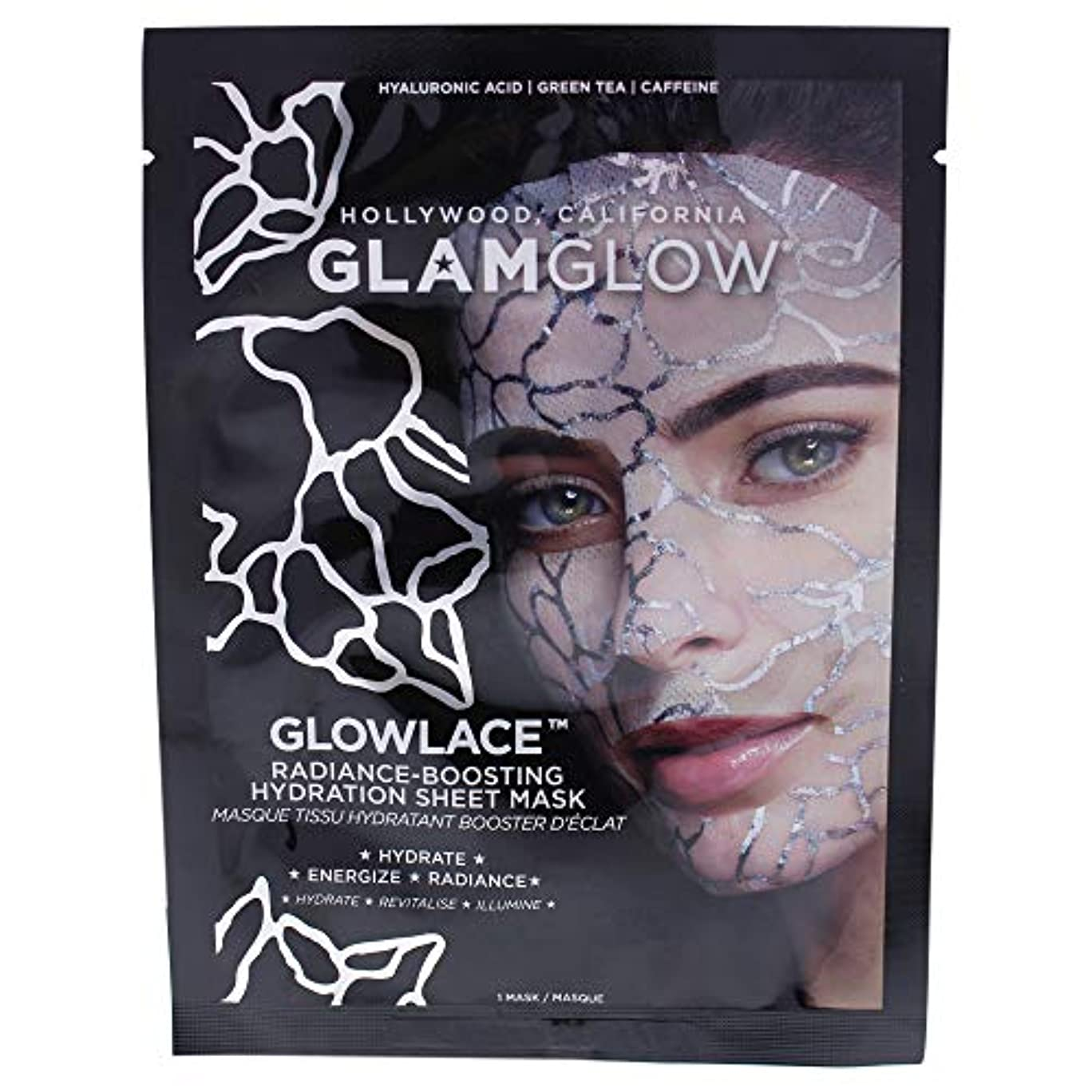 指まっすぐ自由Glowlace Radiance-Boosting Hydration Sheet Mask
