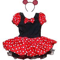 [iEFiEL]iEFiEL EFE Polka Dots Cute Ear Mouse Party Costume Tutu Dress [並行輸入品]