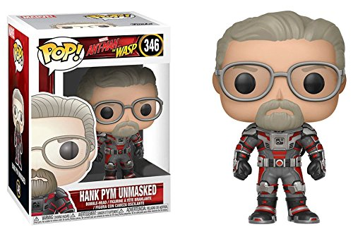Funko POP 。Marvel # 346アントマン&ワスプUnmasked Hank Pym ( Hot Topic Exclusive )