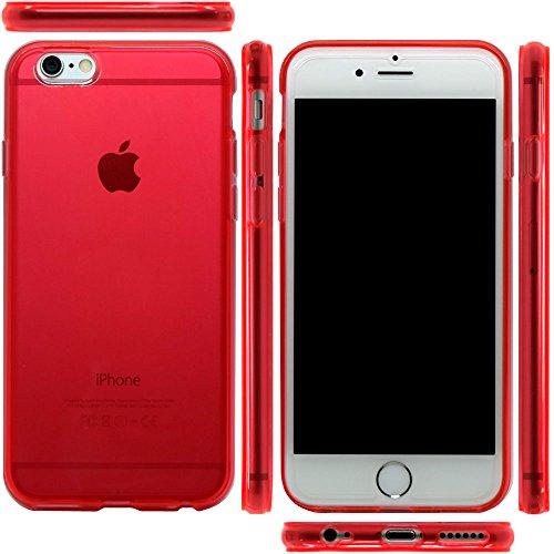 mtmd.jp iphone6s plus & iPhone6 Plus 対応 衝撃吸収 ケース カバー (レッド)