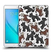 Head Case Designs ジャイアントシュナウザー ドッグブリード・パターン 11 ソフトジェルケース Samsung Galaxy Tab A 9.7