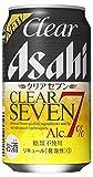 【アルコール7%】クリアアサヒ クリアセブン 缶 350ml×24本