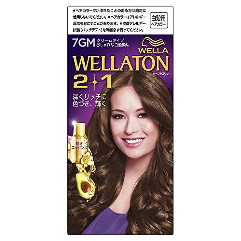 免除する不当料理ウエラトーン2+1 白髪染め クリームタイプ 7GM [医薬部外品] ×6個