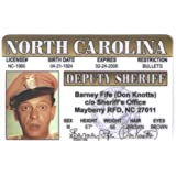 Barney Fife Don Knotts Fun Fake ID License by Signs 4 Fun [並行輸入品]