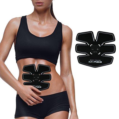 腹筋ベルト EMS腹筋トレ フィットネスマシン ダイエット器具 腰 背 脚 腕 男女兼用