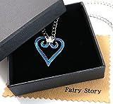 【Fairy Story】 キングダムハーツ ソラ ロクサス 王冠 クラウン モチーフ コスプレ ネックレス 【クロス&箱あり】