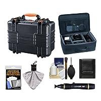 Vanguard Supreme 37F頑丈な防水、Airtight &防塵Professionalハードケースwith Foam Interior + Divider Bag for Canon、Nikon、Olympus、Panasonic、Fuji & Sony Alpha Cameras