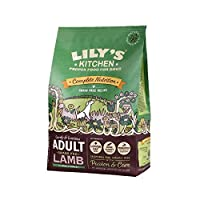 [Lily's Kitchen ] 犬のためのユリの台所大人の草供給子羊粒自由乾燥食品(1キロ) - Lily's Kitchen Adult Grass Fed Lamb Grain Free Dry Food for Dogs (1 kg) [並行輸入品]