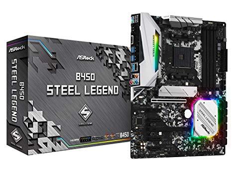 ASROCK AMD Ryzen AM4 対応 B450 チップセット搭載 ATX マザーボード B450 Steel Legend B07MV7LR1B 1枚目
