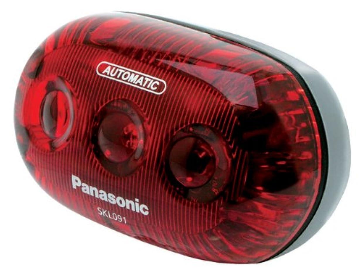 昼食ナサニエル区一定Panasonic(パナソニック) LEDかしこいテールリト [SKL091] 子供乗せ?後カゴ取付用テールライト SKL091