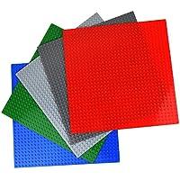 LUCINA ブロック プレート 基礎版 5色5枚セット (25.5×25.5cm)