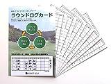 ゴルフが上手くなるスコアカード ラウンドログカード 画像