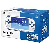 PSP「プレイステーション・ポータブル」バリューパック ホワイト/ブルー(PSPJ-30018)【メーカー生産終了】