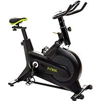 【FITBOX 第3世代フィットネスバイク 極静音】 スピンバイク メーカー エクササイズセンサー付き 組立簡単 トレー…