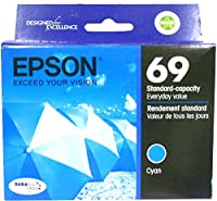 Epson USA T069 Cyan ink cartridge T069220 [並行輸入品]