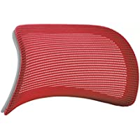 オカムラ オプションパーツ コンテッサ 大型ヘッドレスト グレーボディ用 レッド CM501G-FBC9