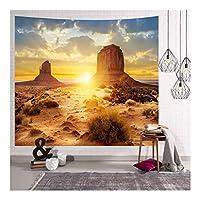 壁のタペストリー ウォールデコレーションタペストリーヨーロッパとアメリカの3D景観シリーズタペストリー多機能ホームデコレーションペンダント (Color : C, Size : 150*200CM)