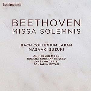 ベートーヴェン : ミサ・ソレムニス / 鈴木雅明 | バッハ・コレギウム・ジャパン (Beethoven : Missa Solemnis / Masaaki Suzuki | Bach Collegium Japan) [SACD Hybrid] [Import] [日本語帯・解説・対訳付]