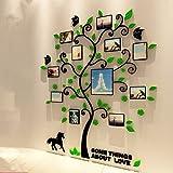 Yunt ウォールステッカー 写真 フレーム DIY 写真が飾れる フォトフレーム 剥がせる 防水加工 装飾デカール 3D 壁 ステッカー