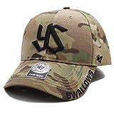 【MYERS10MRS】フォーティーセブンブランド 47BRAND 帽子 CAP ベースボール ボールキャップ 日本プロ野球 東京ヤクルトスワローズ コラボ つば カーブ 迷彩 正規品