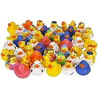 100 pc Mega Rubber Duck Ducky Duckie Assortment [並行輸入品]