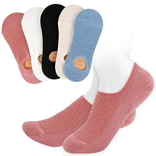 靴下 レディースくるぶしソックス ショートソックス アンクルソックス スニーカーソックス 抗菌防臭 通気性 無地5色5足組