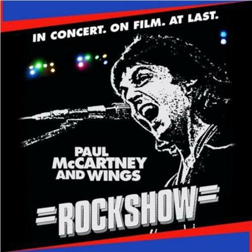 Paul Mccartney & Wings - Rockshow (Live Album) Cd Vinyl Look Retro Black Edition 2014