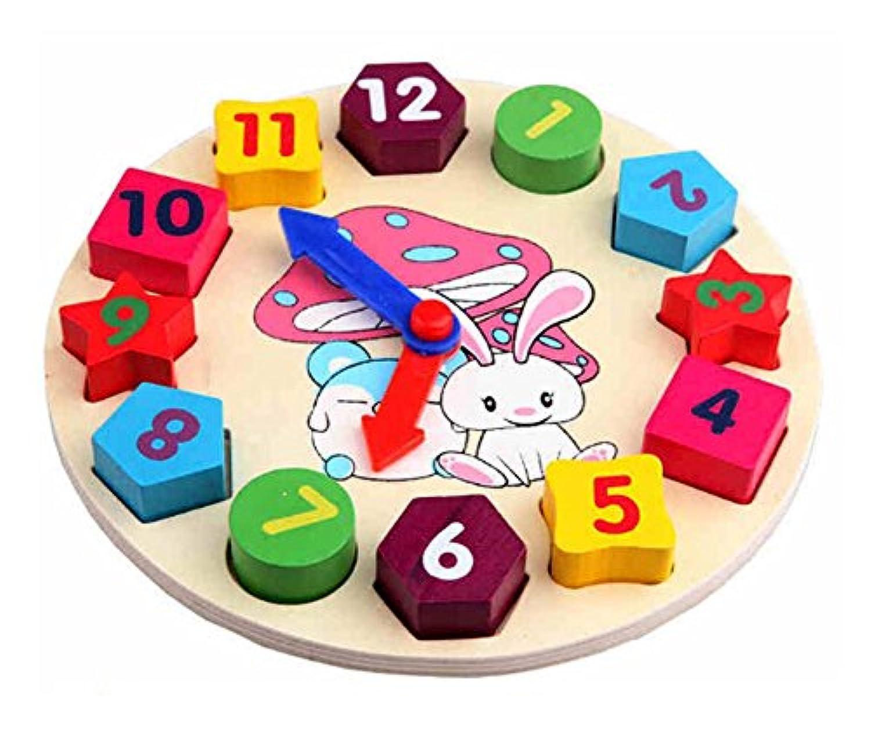 Lovely木製ハンドクラフトおもちゃ形状/カラートイ幼児子供おもちゃファンシー玩具