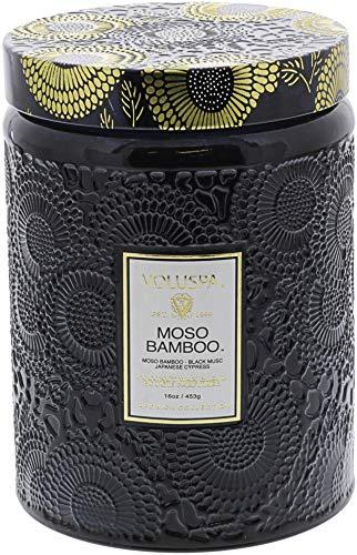 Voluspa ボルスパ ジャポニカ グラスジャーキャンドル L モソ バンブー JAPONICA Glass jar candle MOSO BA...