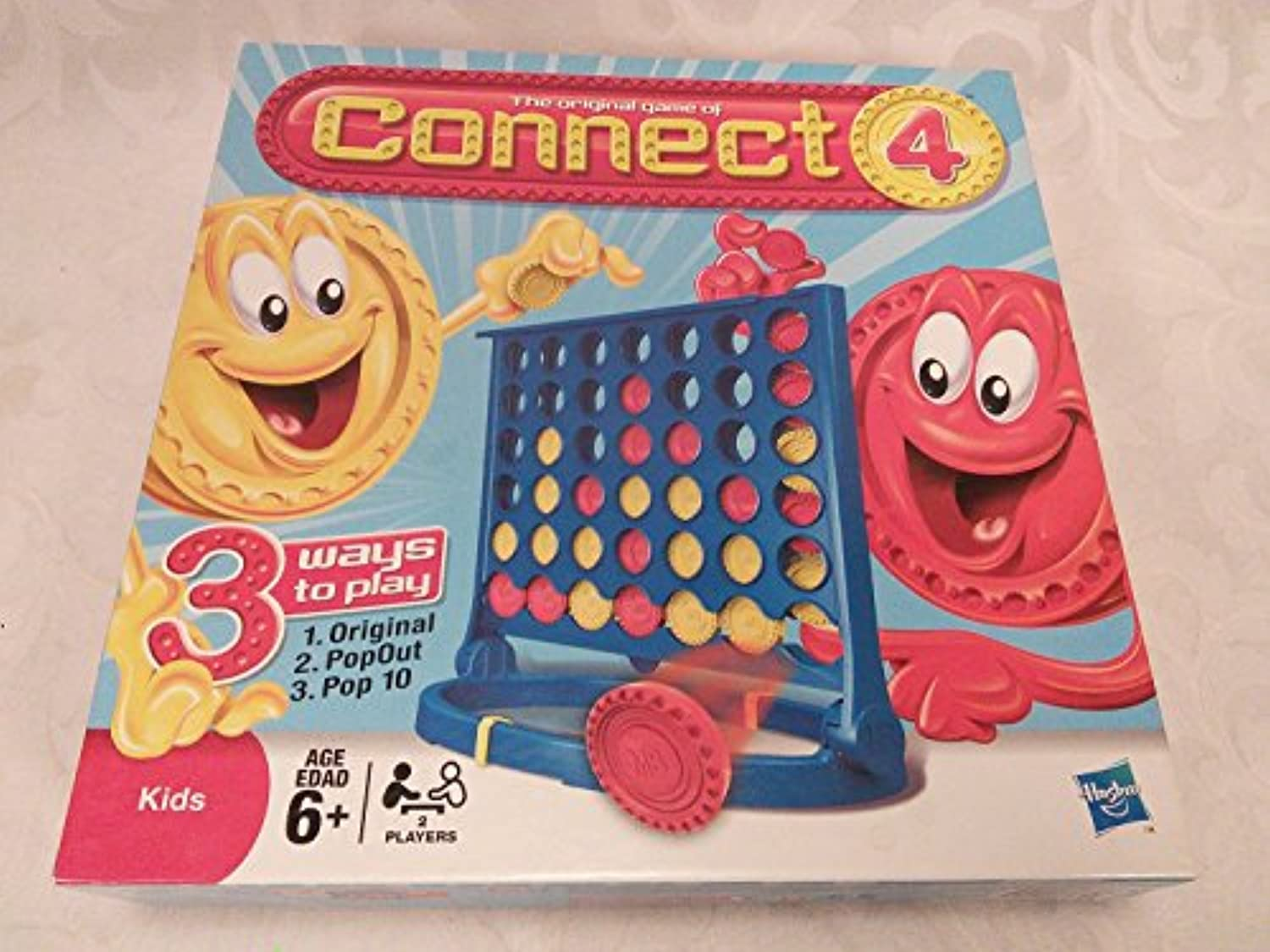 The Original Game Of Connect 4 For Kids 2008 Hasbro MB Games [並行輸入品]