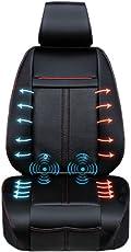 マッサージ&ホット&クールカーシート 静音仕様 3段階調節可能なクール機能&ヒーター機能&マッサージ機能も付いた万能シートです。 シートヒーター クールシート マッサージシート