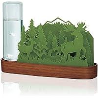 自然気化式加湿器 北欧の森 Forest (シカ-グリーン/FO-GR)