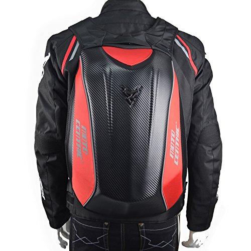 ALI-MC レーシング バイクウエア ツーリング 防水 炭...