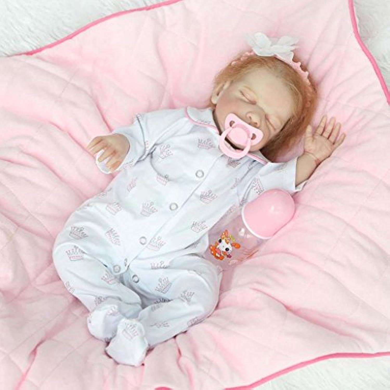 20インチRare Alive Sleeping Rebornベビーガール人形Look Real