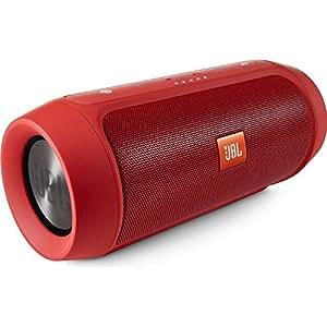 【国内正規品】JBL CHARGE2+ Bluetoothスピーカー IPX5防水機能 ポータブル/ワイヤレス対応 レッド  CHARGE2PLUSREDJN