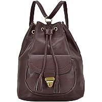 Dasein Women Bucket Handbag Convertible Backpack Shoulder Bag Hobo Purse