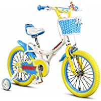 YANFEI 子ども用自転車 子供の自転車3-5-6-8歳の男性と女性の子どもたちの補助車輪を持つ16インチの自転車キッズバイク 子供用ギフト