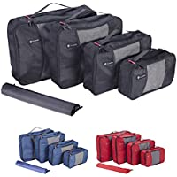 NewNomad Premium Set of 4 Packing Cubes with Bonus Laundry Bag