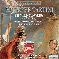 Tartini: Violin Concertos Vol 8 (2001-05-29)